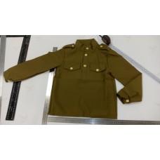 Детский военный костюм для девочки.