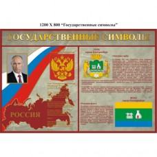 Стенд Государственные символы Екатеринбурга