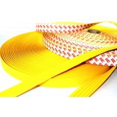 Направляющая тактильная полоса (лента) желтая на самоклеящейся основе 29 мм
