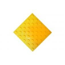 Тактильная плитка клеевая из поливинилхлорида (ПВХ) Конус риф