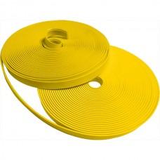 Направляющая тактильная полоса (лента) желтая 29 мм